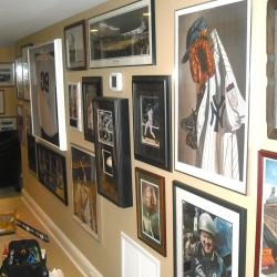 Professional Hanging for pictures and art